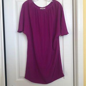 Tucker purple Shift dress, sz M